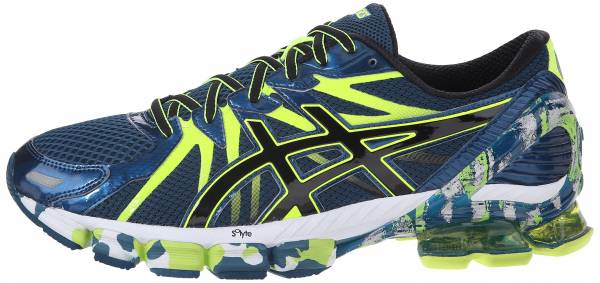 Asics Gel Sendai 3 men ink/black/flash yellow
