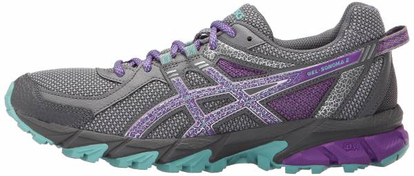 Asics Gel Sonoma 2 woman taupe/orchid/pool blue