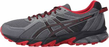 Asics Gel Sonoma 2 Carbon/True Red/Black Men