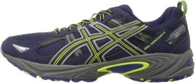 Asics Gel Venture 5 - Indigo Blue/Black/Flash Yellow (T5N3N5090)