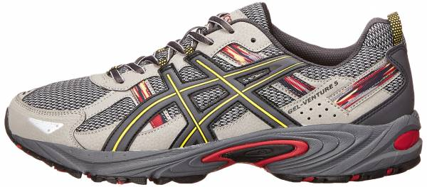 Asics Gel Venture 5 Light Grey/Graphite/Red