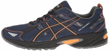 Asics Gel Venture 5 - Indigo Blue Hot Orange Black