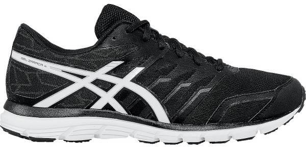 asics running shoes black