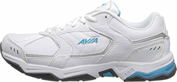 Avia Avi-Tangent - White/Detox Blue/Chrome Silver