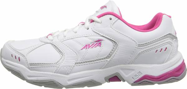 Avia Avi-Tangent - White/Pink Scorch/Chrome Silver (A1483WWPS)