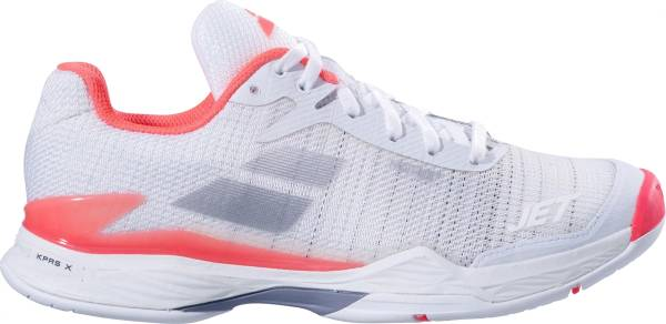 Babolat Jet Mach II All Court - White Fluo Pink Silver
