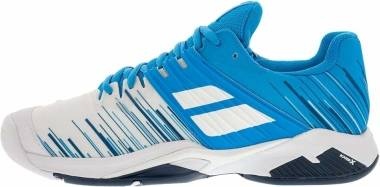 Babolat Propulse Fury All Court - White Blue Aster (30S202081030)
