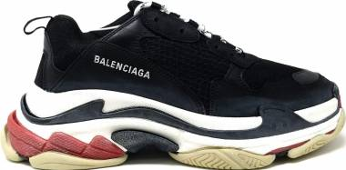 Balenciaga Triple S Trainers - Black (533882)