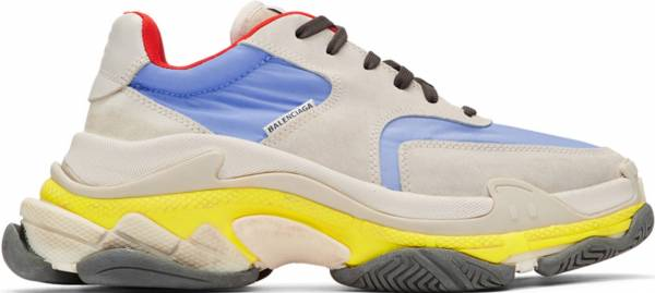 Balenciaga Triple S Mesh and Leather Sneakers Mr Porter