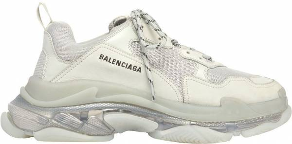 Sole Balenciaga Triple S Clear Trainers l1JTKFc