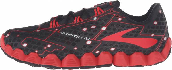 Brooks Neuro men black/high risk red