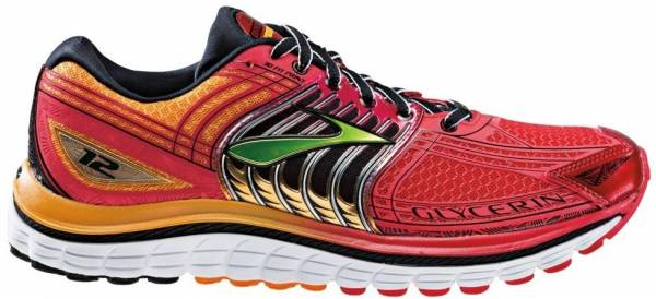 Brooks Glycerin 12 - red
