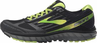 Brooks Ghost 9 GTX (059) Black/Castlerock lime Men