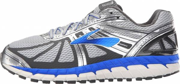Brooks Beast 16 men silver/electric brooks blue/ebony