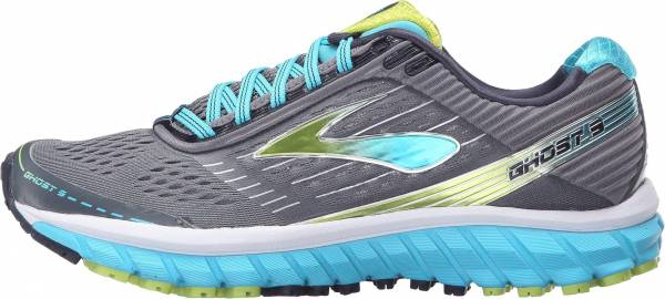 Brooks Ghost 9 woman multicolor (silver/blue/lime)