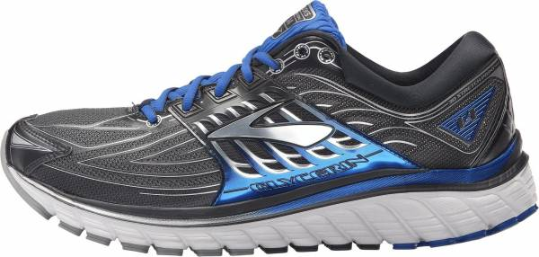 Brooks Glycerin 14 men anthracite/electric brooks blue/silver