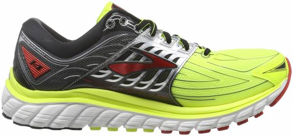 Brooks Glycerin 14 men multicolor (nightlife/black/high risk red)