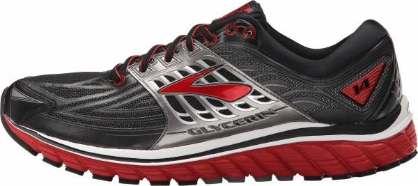 Brooks Glycerin 14 men black/high risk red/anthracite