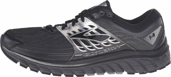 Brooks Glycerin 14 men black/anthracite/silver