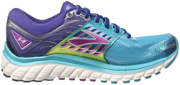 Brooks Glycerin 14 woman hellblau/lila