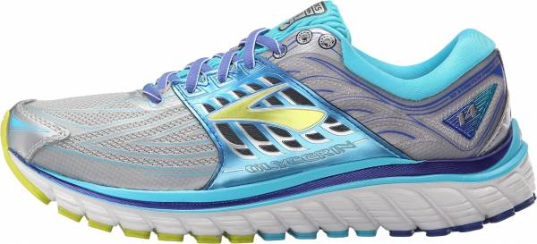 Brooks Glycerin 14 woman silver/blue atoll/lime punch