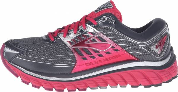 Brooks Glycerin 14 woman anthracite/azalea/silver