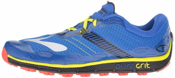 Brooks PureGrit 5 men electric brooks blue/black/lime punch