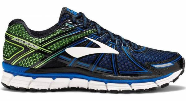 Brooks Adrenaline GTS 17 - Blue Lapis Blue Black Green Gecko (455)