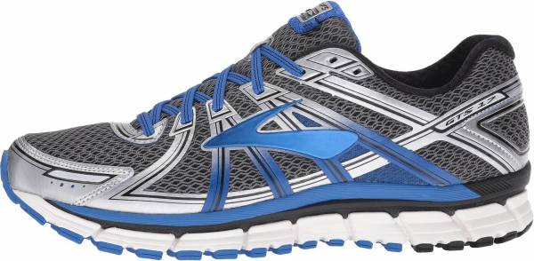 Brooks Adrenaline GTS 17 men anthracite/electric blue