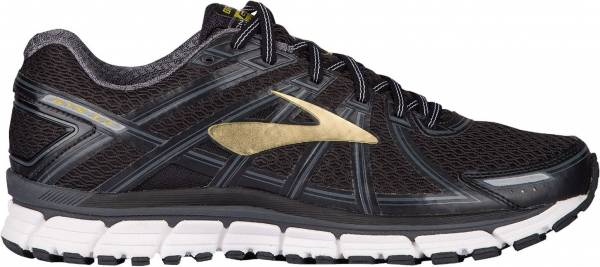 Brooks Adrenaline GTS 17 men black/anthracite/gold