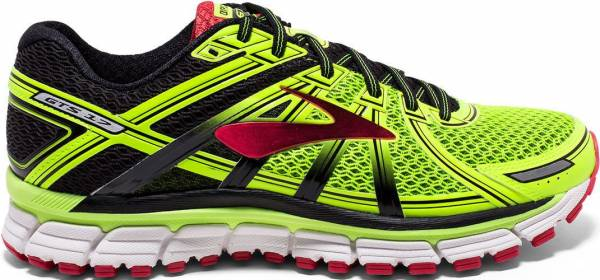 Brooks Adrenaline GTS 17 men multicolore (nightlife/black/truered)