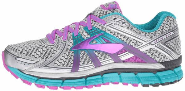 Brooks Adrenaline GTS 17 woman silver/ purple cactus flower/ bluebird