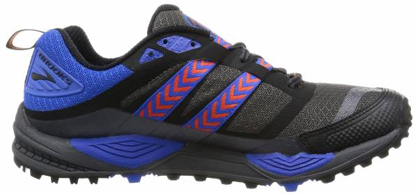 3782fe0679af2 Brooks Cascadia 12 Multicolour (Anthracite Electricblue Black 098)
