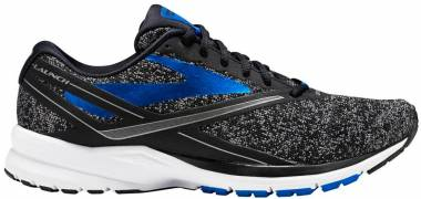 Brooks Launch 4 - Black Black Anthracite Electric Blue (037)