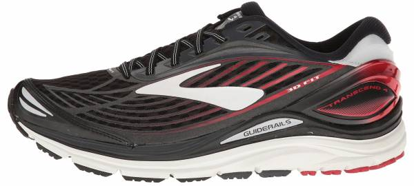 Brooks Transcend 4 - (081) Black/Anthracite/Toreador (081)