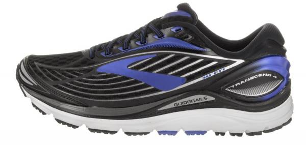 Brooks Transcend 4 Black/Electric Brooks Blue/Silver