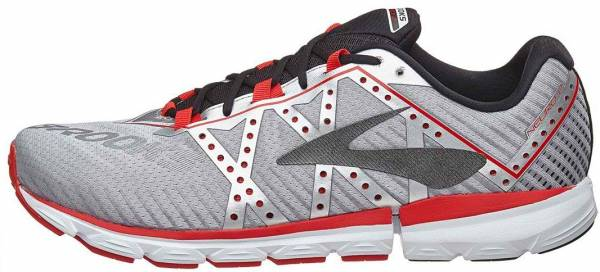 Brooks Neuro 2 Silver/Black/High Risk Red