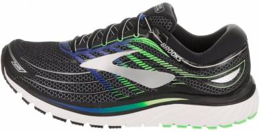 Brooks Glycerin 15 - Black/Electric Brooks Blue/Green Gecko