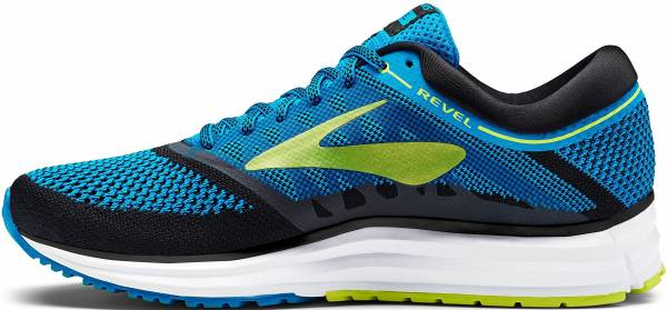 Brooks Revel Methyl Blue/Lime Popsicle/Black