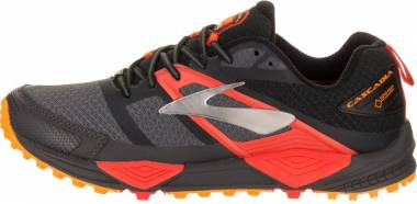 Brooks Cascadia 12 GTX - Multicolor Black Ebony Cherrytomato 1d047