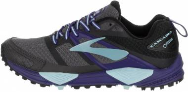 Brooks Cascadia 12 GTX - Black/Ebony/Clematis Blue (025)