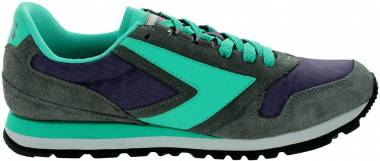 9685a3ede24 Brooks Chariot Heritage Grey Purple Turquoise Ascensio Men