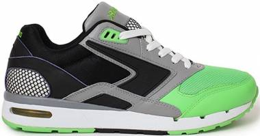 Brooks Fusion Greenflash/Black/Darkgrey Men