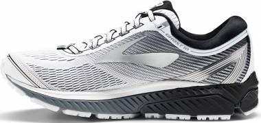 Brooks Ghost 10 - White/Silver/Black (167)