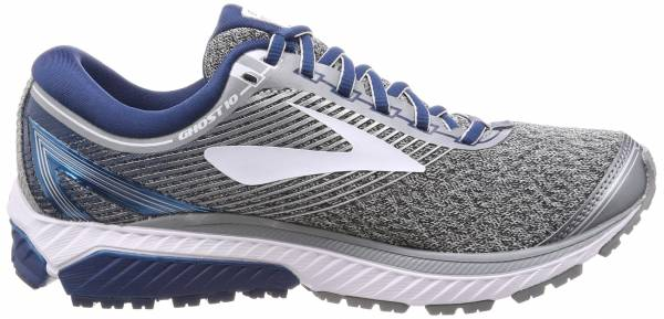 Brooks Ghost 10 - (013) SILVER/BLUE/WHITE (013)