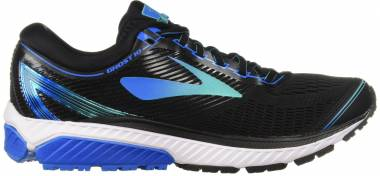 Brooks Ghost 10 - Black/Turquoise/Blue