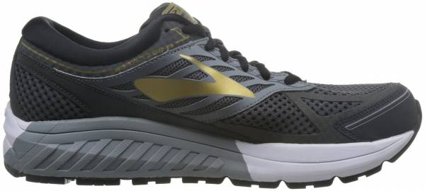 Brooks Addiction 13 Black/Ebony/Metallic Gold
