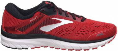 Brooks Adrenaline GTS 18 - Red/Black/Silver (673)