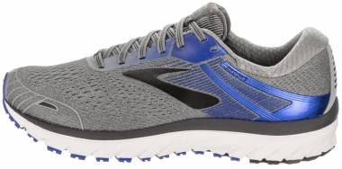 3c542668a2a Brooks Adrenaline GTS 18 Grey Blue Black Men