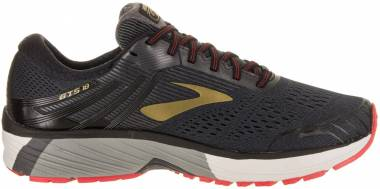 c067b2ae5373d Brooks Adrenaline GTS 18 Black Gold Red Men